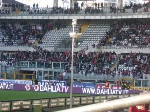 Torino-Pescara: la Curva Maratona lasciata vuota dai tifosi granata