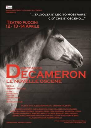 Decameron Le novelle oscene al Puccini dal 12 al 14 aprile 2011