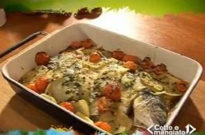 Cotto E Mangiato Le Ricette Di Benedetta Parodi Teglia Di Pesce