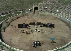 Pink Floyd live at Pompei 1971