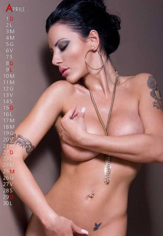 Calendario Pornostar.Calendari 2012 Ecco Quello Hot Della Pornostar Amandha Fox