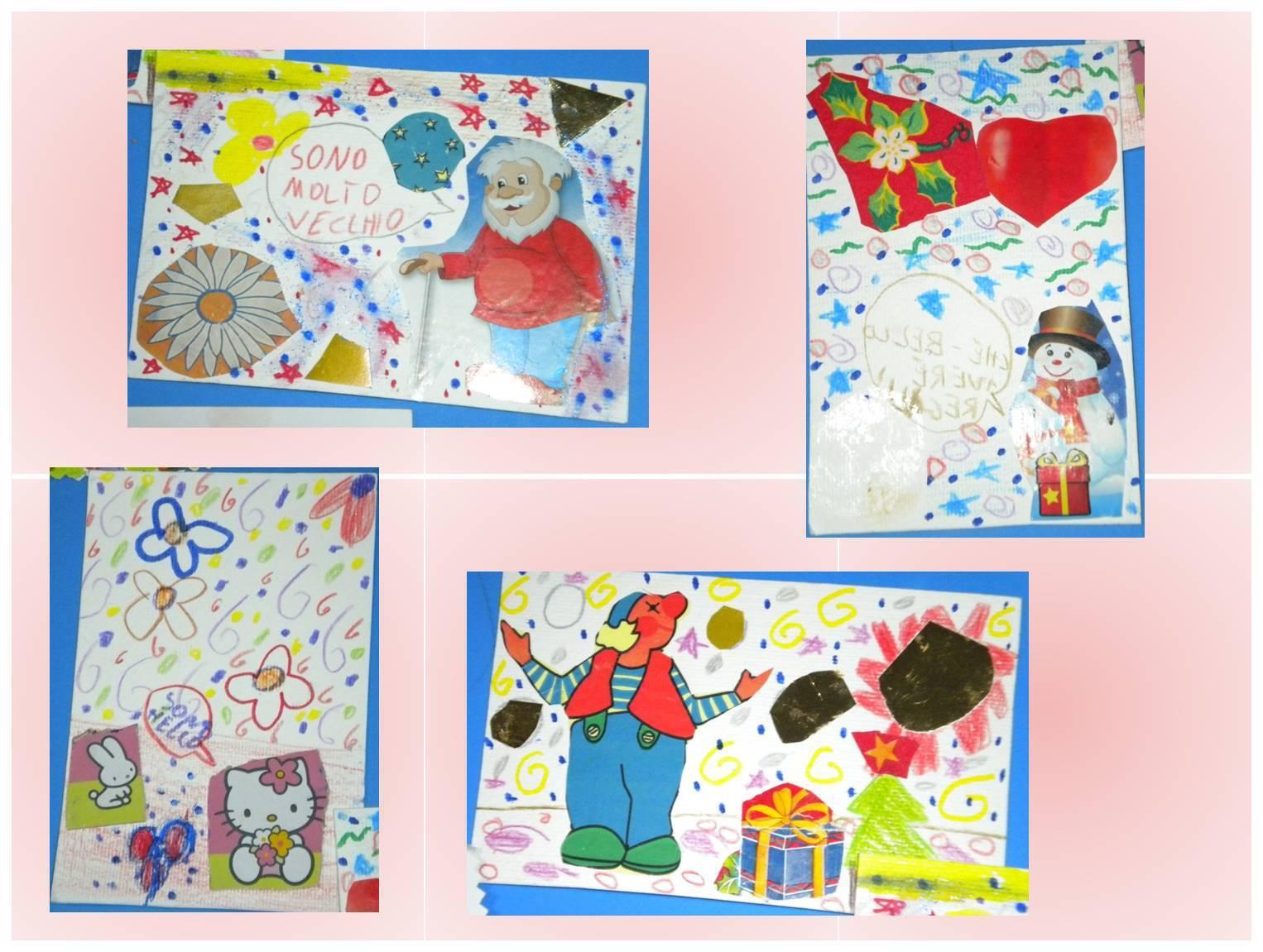 Bambini Creativi Una Lettera Per Babbo Natale La Mail Art