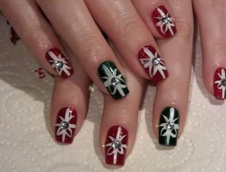 Unghie Con Disegni Di Natale.Unghie Perfette Per Natale