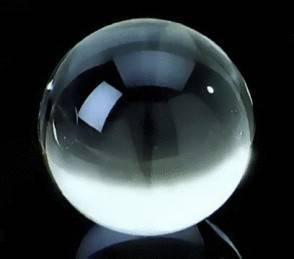Una sfera di cristallo, strumento da Cartomante