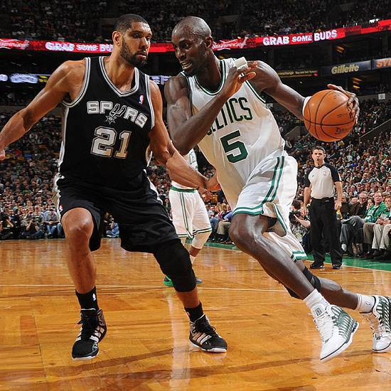 Tim Duncan vs Kevin Garnett: Revenge of the Old School