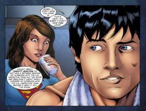smallville2 294x225 Nellundicesima stagione di Smallville spazio allamore tra Lois e Clark