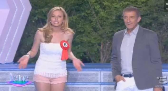 Veline 2012 vince la puntata del 4 luglio xenia sincarenco - Viola martina porta ...