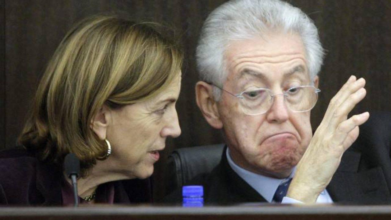 Lega: slogan noir conto Monti e Fornero