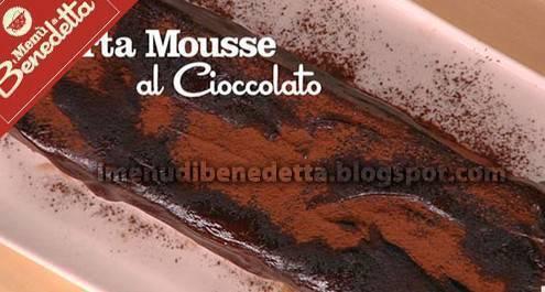 I Menù Di Benedetta La Golosa Torta Mousse Al Cioccolato