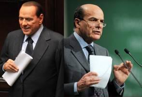 Berlusconi Bersani
