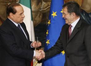 Silvio Berlusconi, Romano Prodi