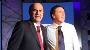 Bersani e Renzi
