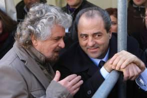 Grillo e Di Pietro