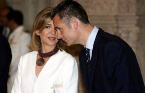 Inaki Urdangarin con la Infanta Cristina