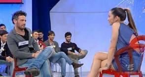 Italo e Rosy durante il programma