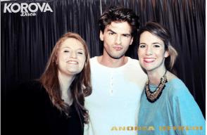 Andrea Offredi in discoteca