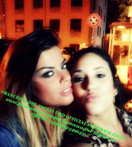 Francesca con Gabriela