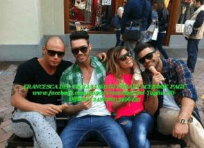 Francesca e gli amici di Eugenio