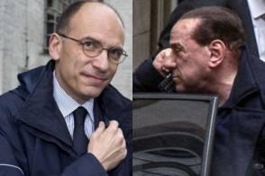 Letta e Berlusconi