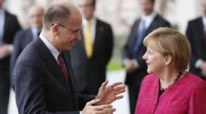 Letta e Merkel