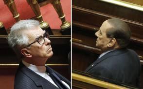 Zanda e Berlusconi