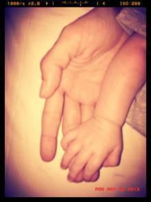 La piccola mano di Santiago