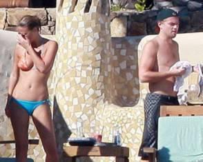 Leonardo Di Caprio e la ex fiamma Bar Rafaeli