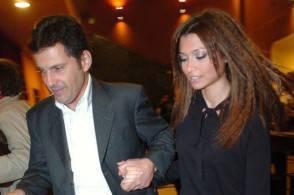 Fabrizio Frizzi e Carlotta Mantovani
