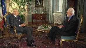 Napolitano e Scalfari