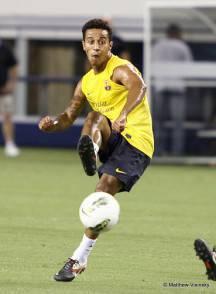 SOCCER: August 5 FC Barcelona Training