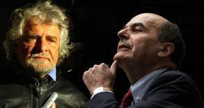 Grillo e Bersani