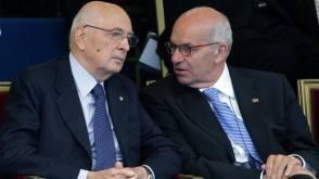 Napolitano e Bertinotti