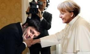 Renzi dalla Merkel