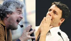 Grillo e Renzi