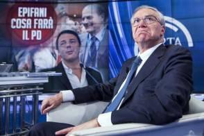 "RaiUno - Guglielmo Epifani ospite a ""Porta a Porta"""