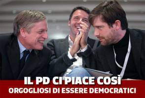 Confronto tv Pd