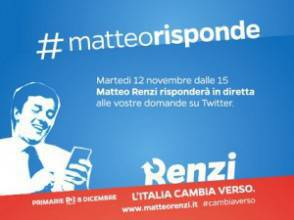 Matteo Renzi twitter