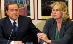 Berlusconi e Stefania Craxi