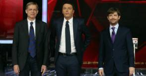 Civati, Renzi e Cuperlo