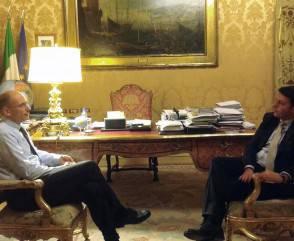 ++ Letta-Renzi,incontro fruttuoso,lavoreremo bene insieme ++