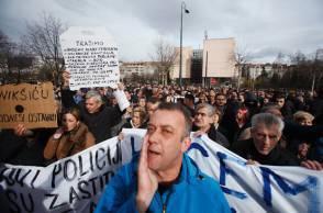 proteste Bosnia