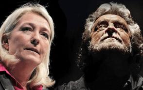 Le Pen e Grillo