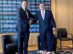 Renzi e Barroso