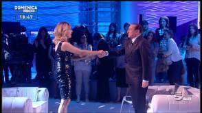 Barbara D'Urso e Berlusconi