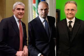 Casini, Alfano e Mauro