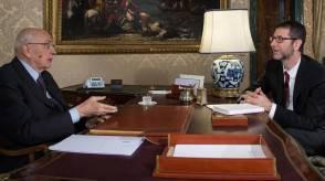Napolitano e Fazio