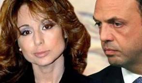 Marina Berlusconi e Alfano