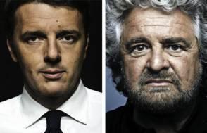 Renzi e Grillo