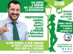 Salvini referendum Lega