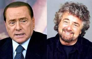 Berlusconi e Grillo